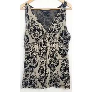 3/$25 New York & Company XL sleeveless blouse